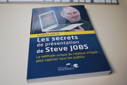 Livre - Les secrets de présentation de Steve Jobs