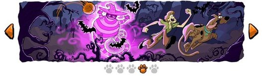Scooby Doo débarque sur Google pour Halloween