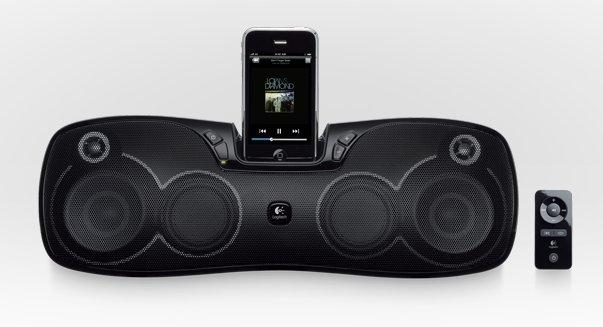 Logitech Rechargeable Speaker S715i, un dock iPod et iPhone nomade