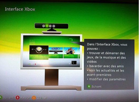 Xbox 360 - Mise à jour avec Kinect dedans