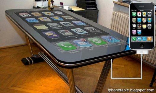 iPhone Table Connect - Un iPhone géant à partager entre amis
