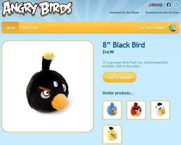 Angry Birds - La barre de 10 millions de téléchargements payants franchit