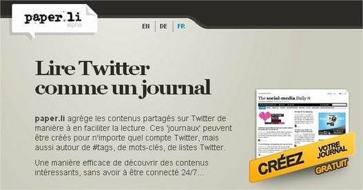Paper.li maintenant en français