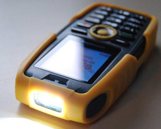 Un téléphone pour le sport extreme... enfin presque :)