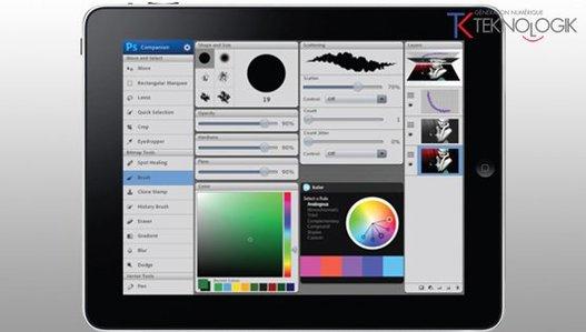 Photoshop sur iPad, iPhone et Galaxy Tab pour bientôt ?