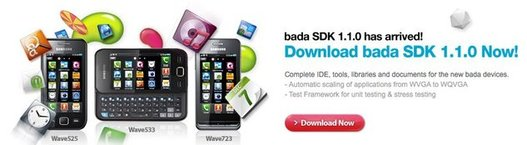 Le SDK 1.1.0 de Samsung Bada est disponible