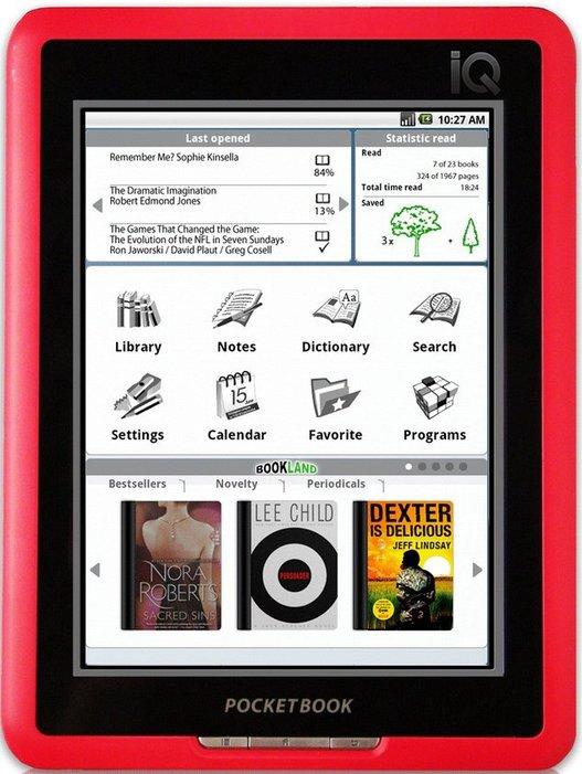 PocketBook IQ - Le livre électronique multimédia
