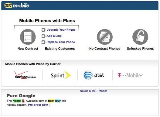 Un Nexus S au lieu d'un Nexus Two ?