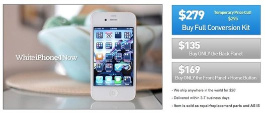 iPhone 4 blanc - Disponible mais pas chez Apple