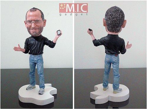 La figurine Steve Jobs - Indispensable pour les Apple Addict :)