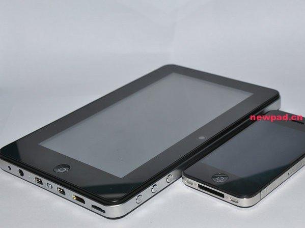 Un iPhone 4 de 7 pouces sous Android en Chine