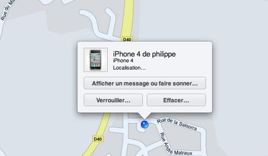 Configuration de Localiser Mon iPhone sur iOS 4.2 ( Find My Phone )
