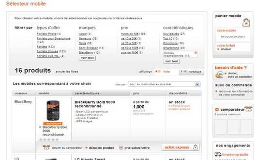 Orange propose des téléphones d'occasions reconditionnés