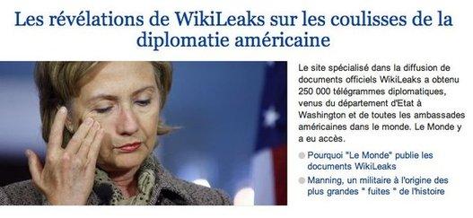 Wikileaks victime d'une attaque et Le Monde commence à parler