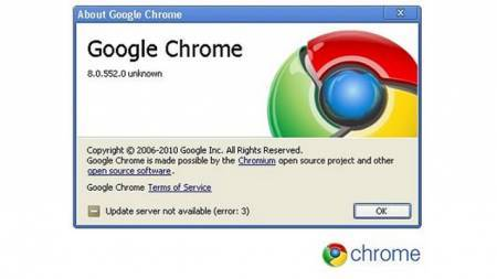Google Chrome 8 est disponible !