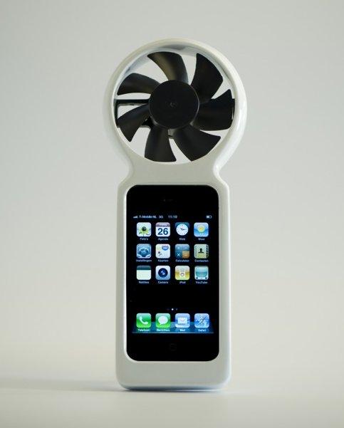 iFan - Recharger votre iPhone avec une éolienne