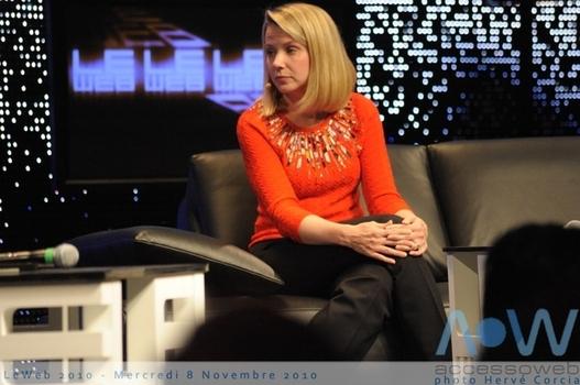 LeWeb'10 - Marissa Mayer Vice présidente de Google