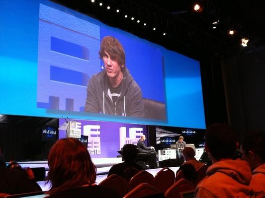 LeWeb'10 - Dennis Crowley Co-fondateur de Foursquare