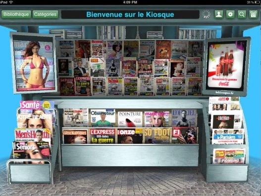 LeWeb'10 - LeKiosque.fr arrive sur l'iPad très bientôt
