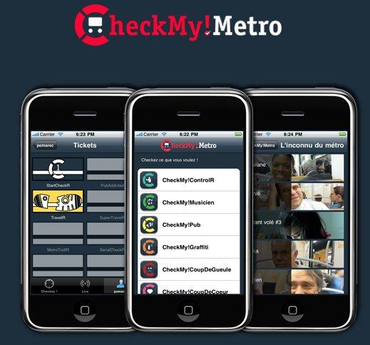 LeWeb'10 - Présentation de CheckMyMetro