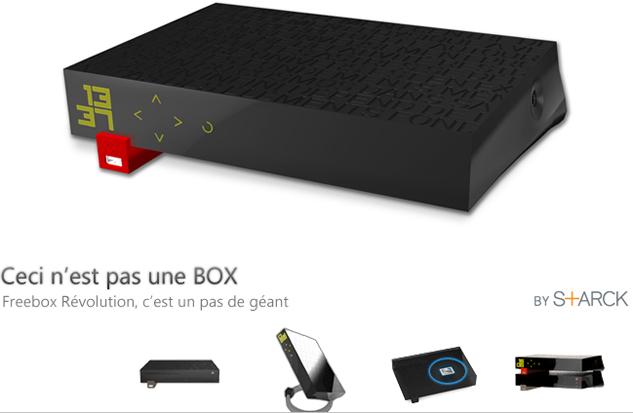 Free annonce la Freebox V6 Revolution