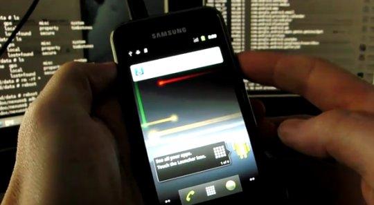 Android 2.3 sur le Samsung Galaxy S