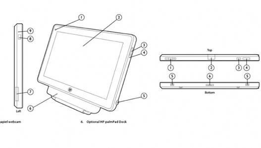 HP - Une tablette PalmPad au CES ?