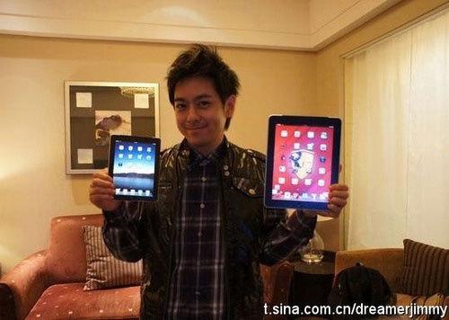 L'iPad 2 mini en photo ?