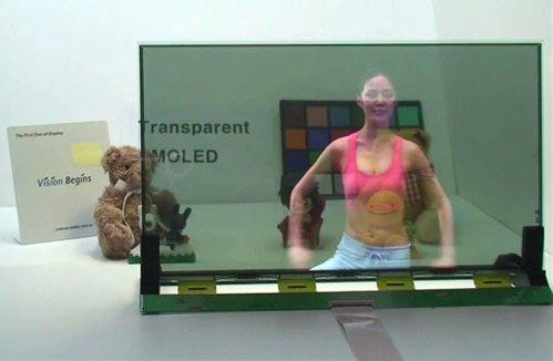 CES 2011 - Samsung présentera ses écrans souples et transparents
