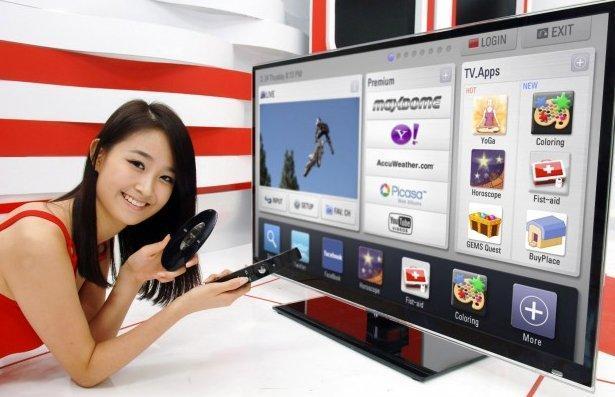 CES 2011 - LG Smart TV