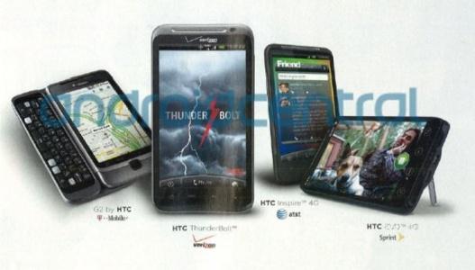 CES 2011 - HTC annonce la sortie du Inspire 4G aux US