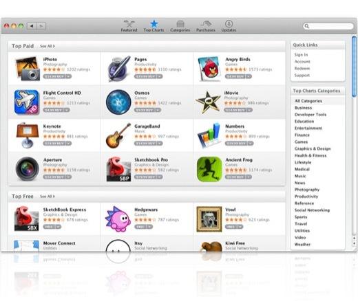 Mac OS X 10.6.6 et Mac App Store sont disponibles !