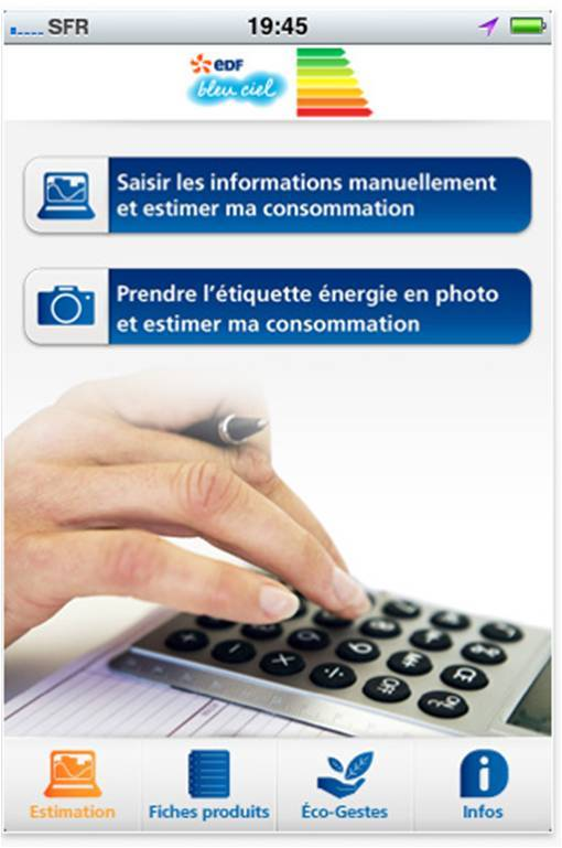 EDF lance son application iPhone !