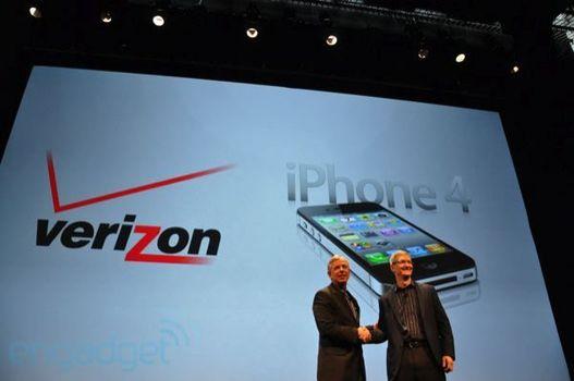 Verizon va proposer l'iPhone 4 CDMA