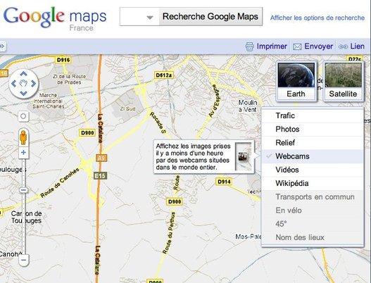 Tiens, des nouveautés sur Google Maps