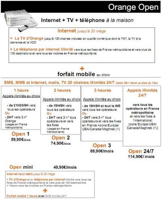 Appels vers les mobiles - Orange s'aligne avec la concurrence de l'illimitée