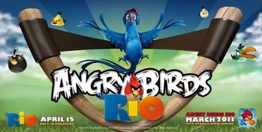 Angry Birds Rio au cinéma bientôt