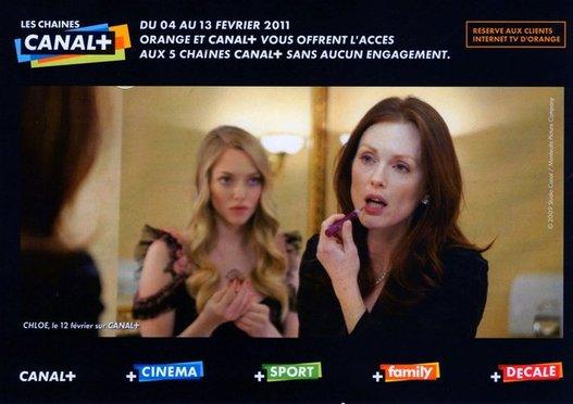 Orange propose Canal+ à ses abonnés du 4 au 13 février