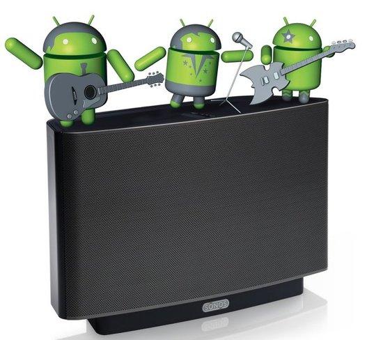 Sonos Controller pour Android en Mars 2011
