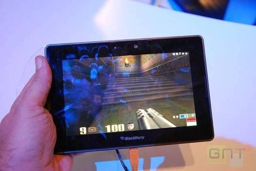 MWC 2011 - Une Blackberry Playbook 4G