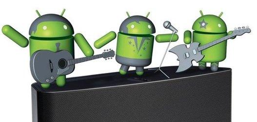Sonos pour Android avec la recherche vocale