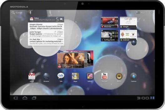 Motorola Xoom - Google Music pourrait sortir avec la tablette
