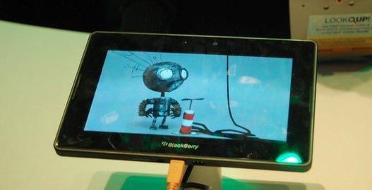 Blackberry Playbook - Démo de la 3D Stéréoscopique