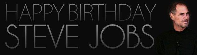 Un site dédié pour l'anniversaire de Steve Jobs