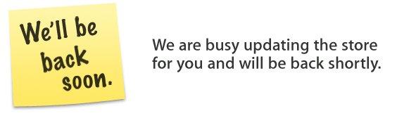 L'Apple Store en ligne est indisponible !
