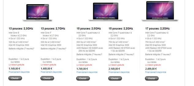 Les nouveaux MacBook Pro sont là !