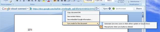 Téléchargez Google Cloud Connect pour Microsoft Office