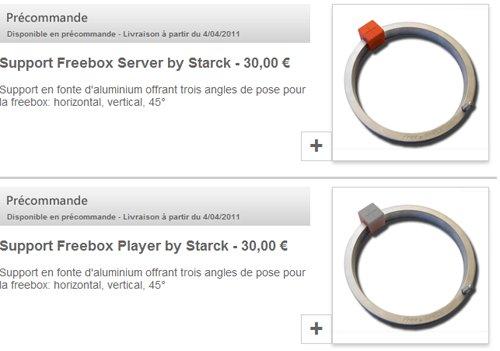 Free ouvre sa boutique d'accessoires pour sa Freebox Révolution