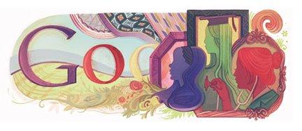 Journée Internationale de la femme sur Google