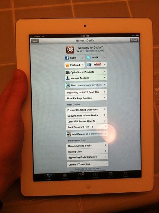 Jailbreak iPad 2 - C'est fait